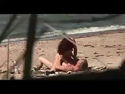 Curly haired milf woman riding a thick rock-hard dick outdoors